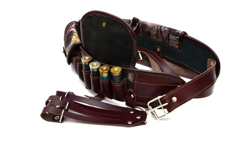 Society Trivia Question: Which of these is a pocketed belt for holding ammunition?