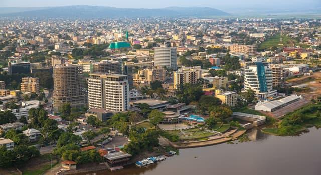 Geographie Wissensfrage: Was ist die Hauptstadt der Republik Kongo?