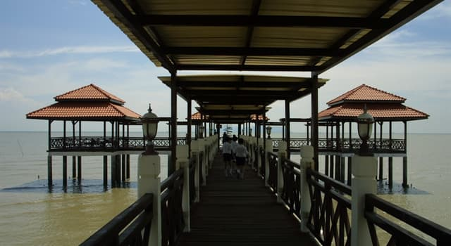 Geography Trivia Question: Tanjung Piai cape is the territory of which country?