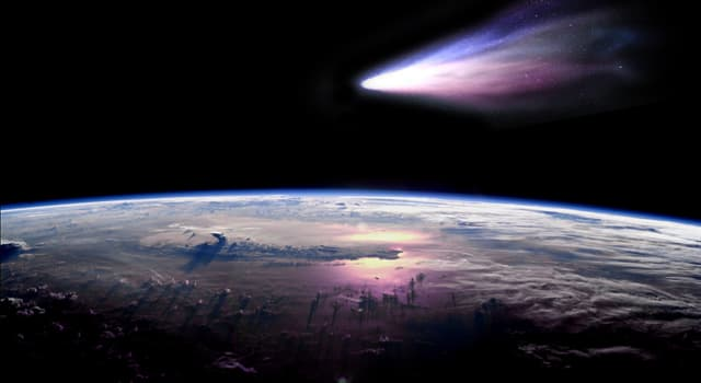 Science Trivia Question: The approach of which comet was one of the closest approaches to the Earth in the previous 200 years?