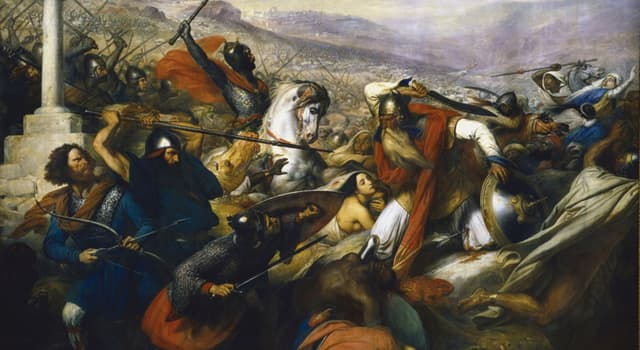 History Trivia Question: The Battle of Tours occured during which year?