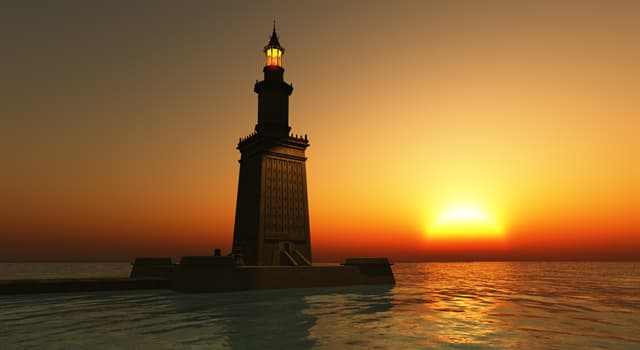 History Trivia Question: What happened to the Lighthouse of Alexandria?