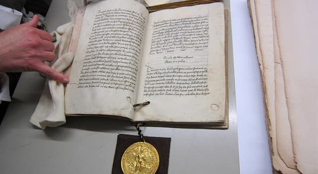 Culture Trivia Question: What is a type of public decree or charter issued by a pope of the Catholic Church called?