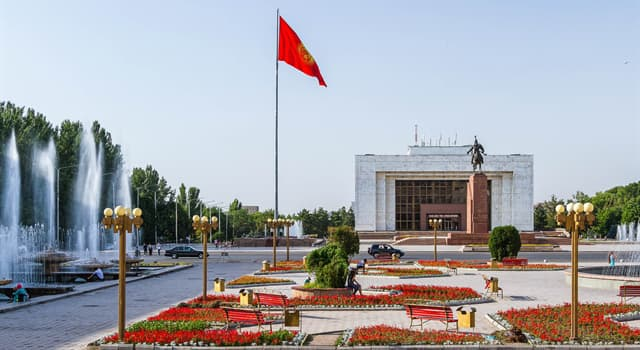 Geography Trivia Question: What is the capital of Kyrgyzstan?