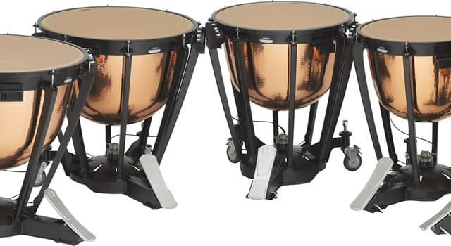 Culture Trivia Question: What type of percussion instrument are these?