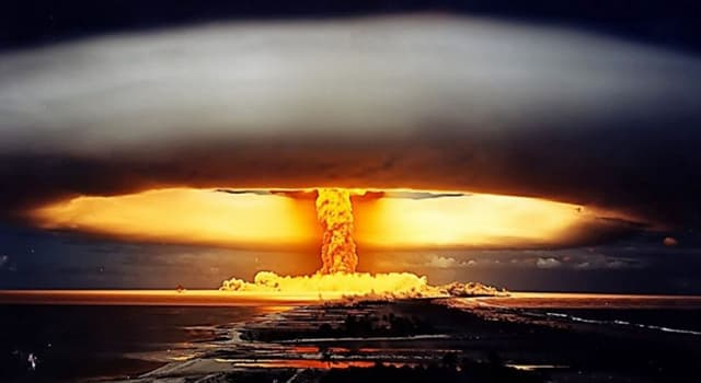 Science Trivia Question: What was the name of the first French nuclear test?