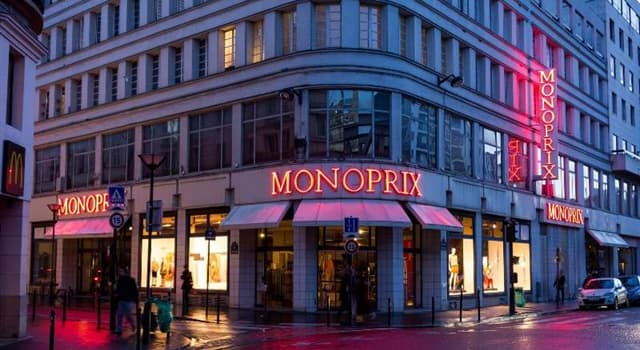 Culture Trivia Question: When was French retailer 'Monoprix' founded?