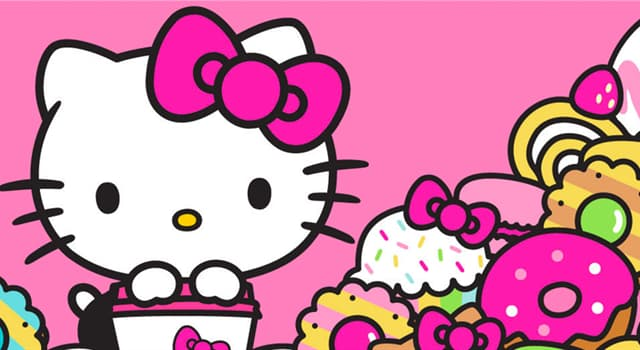 Culture Trivia Question: When did the fictional character, 'Hello Kitty' come to the United States?