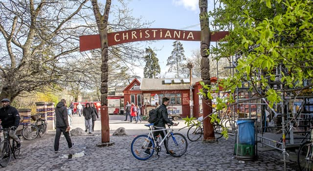 History Trivia Question: When was Freetown Christiania in the territory of Copenhagen formed?