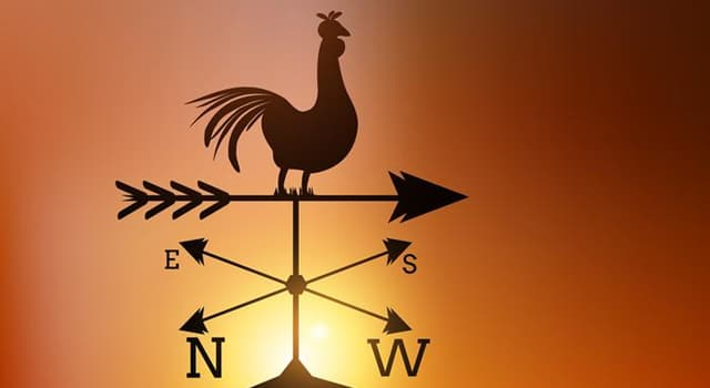 History Trivia Question: When was the first weather vane invented?
