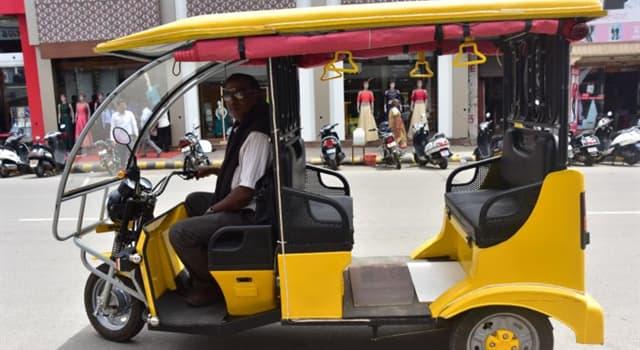 Culture Trivia Question: Where did the rickshaw originate?