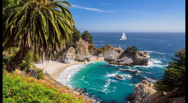 Geography Trivia Question: Where did the state name 'California' come from?