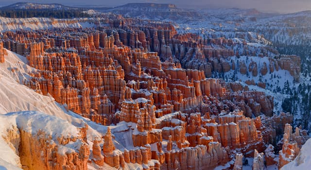 Geography Trivia Question: Where is Bryce Canyon located?