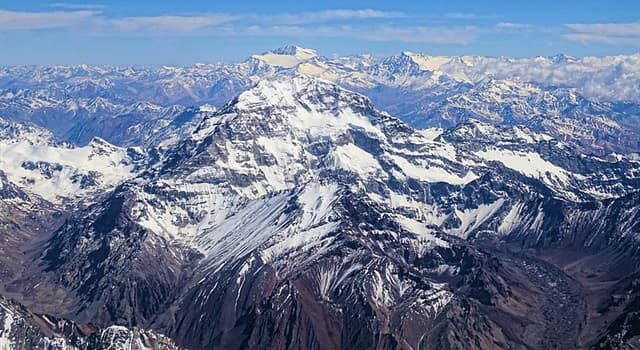 Geography Trivia Question: In which mountain range is the Aconcagua located?