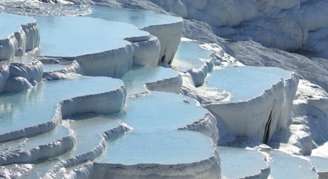 Geography Trivia Question: Where is the city of Pamukkale located?