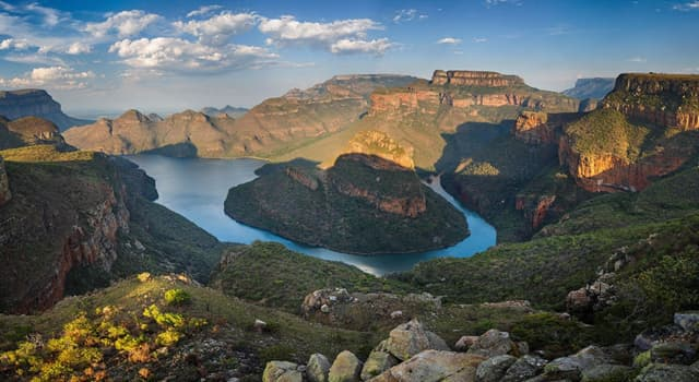 Geography Trivia Question: Where is the Blyde River Canyon located?