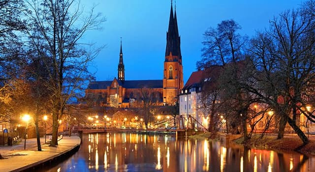 Geography Trivia Question: Where is the city of Uppsala?
