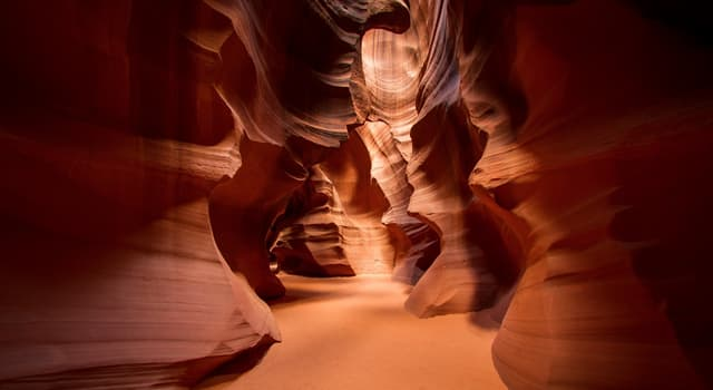 Culture Trivia Question: Which American canyon is pictured?