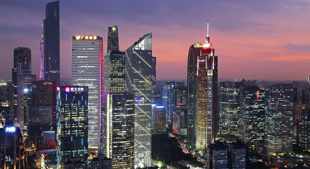 Geography Trivia Question: Which Chinese city was previously known as Canton?