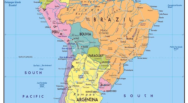 Geography Trivia Question: Which country of South America has a Welsh speaking region?
