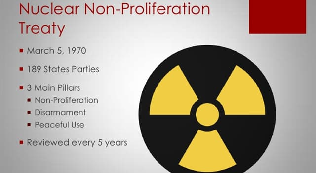 Society Trivia Question: Which country signed the Treaty on the Non-Proliferation of Nuclear Weapons but left in 2003?