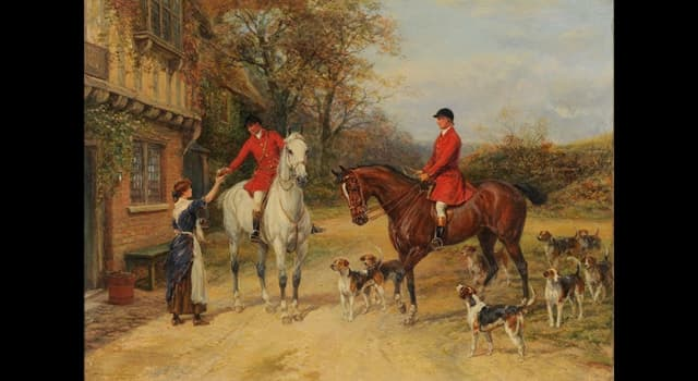 Culture Trivia Question: Which famous equestrian artist created this painting?