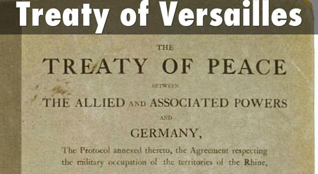 "History Trivia Question: Which Frenchman was one of the ""Big Four"" statesmen that drafted the Treaty of Versailles?"