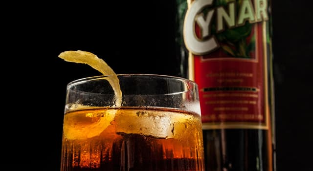 Culture Trivia Question: Which is the main flavour of Cynar liqueur?