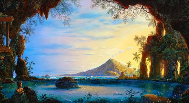 Culture Trivia Question: Which of these is a hypothetical lost land located in either the Indian or the Pacific Ocean?