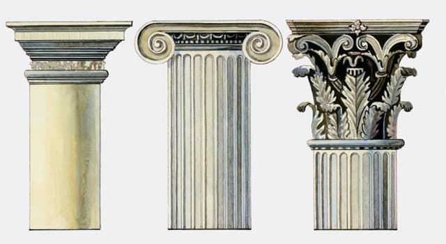 Culture Trivia Question: Which of these is one of the orders of ancient Greek architecture?