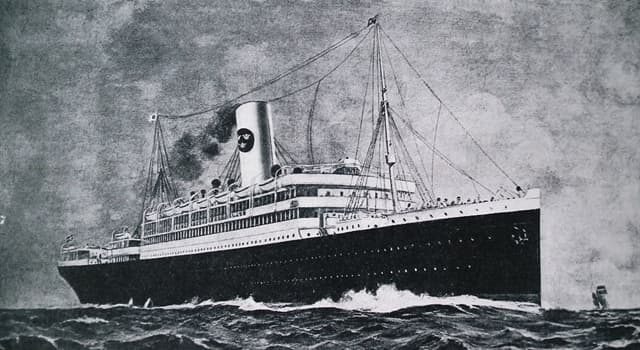 History Trivia Question: Which steamship was wrecked on the Great Barrier Reef in 1875?