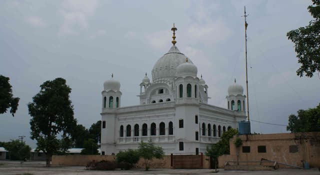 Geography Trivia Question: Which two countries are connected by the Kartarpur Corridor?