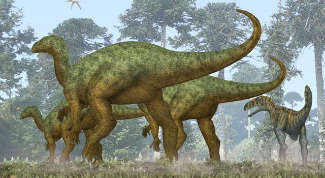Science Trivia Question: Which type of dinosaur was the second type to be formally named based on fossil specimens?