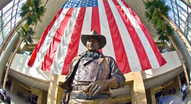 Society Trivia Question: Which U.S. county does John Wayne Airport serve?