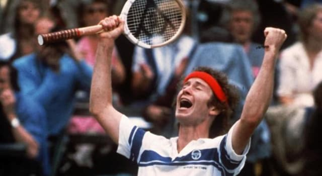 Sport Trivia Question: Who did John McEnroe beat in his first match on the way to winning his first Wimbledon title?