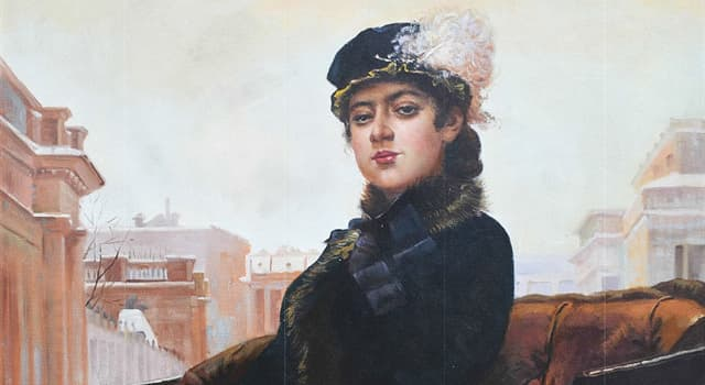 """Culture Trivia Question: Which Russian artist painted """"Portrait of an Unknown Woman""""?"""