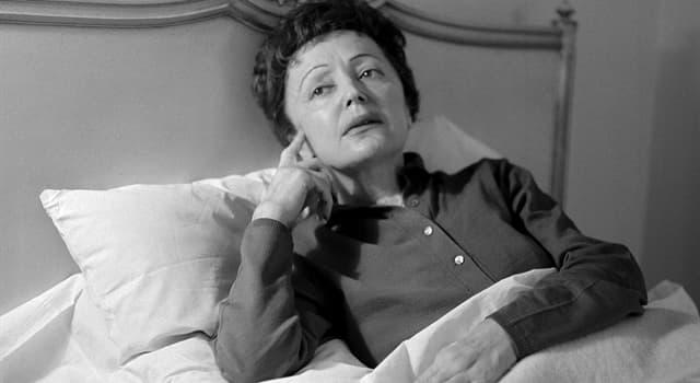 Culture Trivia Question: Who was Édith Piaf?