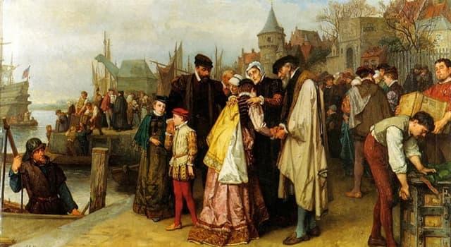 History Trivia Question: Who were the Huguenots?