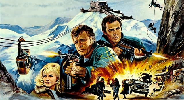 "Culture Trivia Question: Who wrote books including ""The Guns of Navarone"", ""Ice Station Zebra"" and ""Where Eagles Dare"" ?"