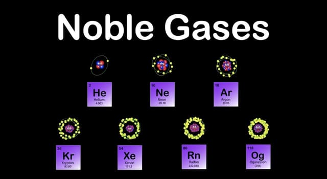 Science Trivia Question: In 1962, the chemist Neil Bartlett created the first noble gas compound from which element below?