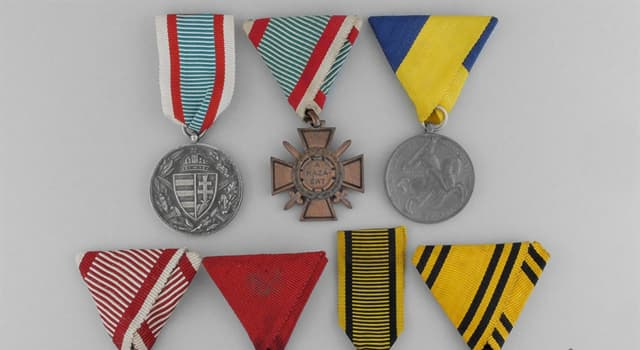 History Trivia Question: What was the last medal to be officially founded by the Austro-Hungarian Empire?