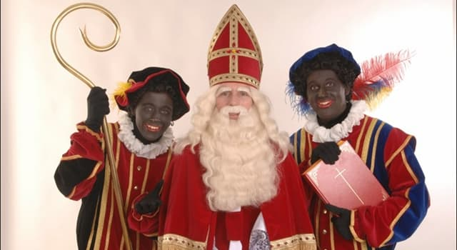 Culture Trivia Question: Which country features a character named 'Black Peter' at Christmas?