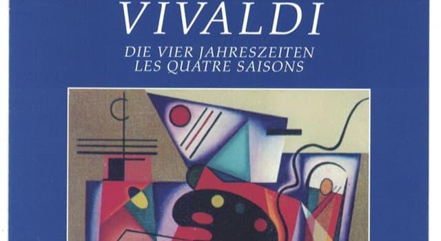 """Cultura Pregunta Trivia: ¿Qué estación se interpreta primero en los conciertos de """"Las Cuatro Estaciones"""" de Vivaldi?"""