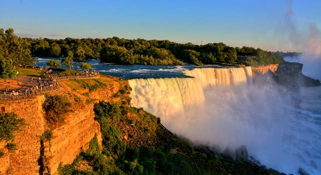 Nature Trivia Question: How many waterfalls do Niagara Falls consist of?