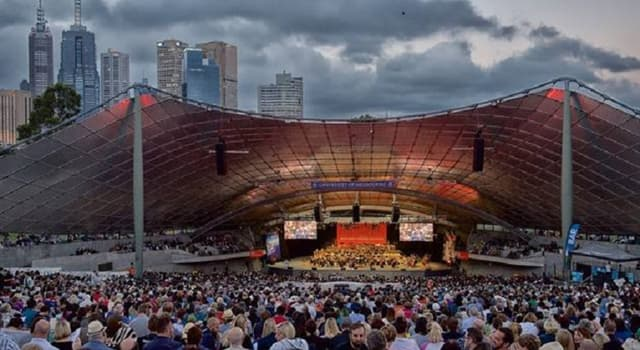 Culture Trivia Question: In which city would you find the Sidney Myer Music Bowl?