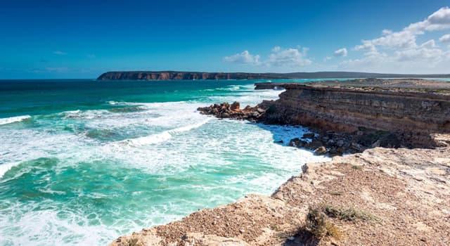 Geografía Pregunta Trivia: ¿En qué continente se encuentra la península de Eyre?