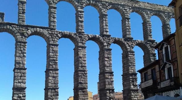 Cultura Pregunta Trivia: ¿En qué país se encuentra el acueducto de Segovia?