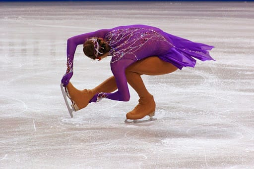 Sport Trivia Question: Which of these is one of the three basic figure skating spin positions?
