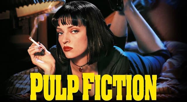 """Películas y TV Pregunta Trivia: ¿Qué actriz interpretó a Mia Wallace en la película """"Pulp Fiction"""" de 1994?"""