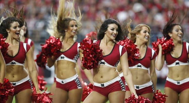 Deporte Pregunta Trivia: ¿Qué es lo que NO hacen las porristas o animadoras deportivas?